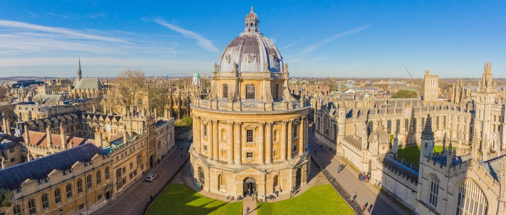 Oxford, my literary escape.