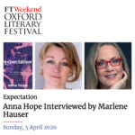 Hauser & Hope talk Expectation. At the Oxford Literary Festival.